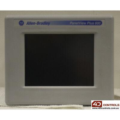 Allen Bradley 2711P-T6C20A PanelView Plus 600 Color Touch - Used - Series B