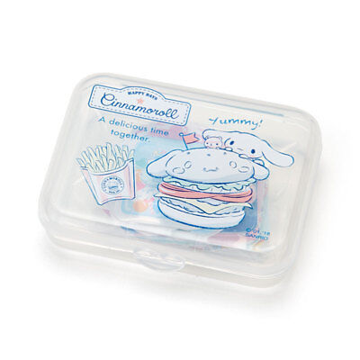 Sanrio Cinnamoroll Stickers 40pcs with Plastic Case (Designed in Japan)