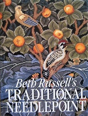 Beth Russell's Traditional Needlepoint by Beth Russell (Hardcover 1992)