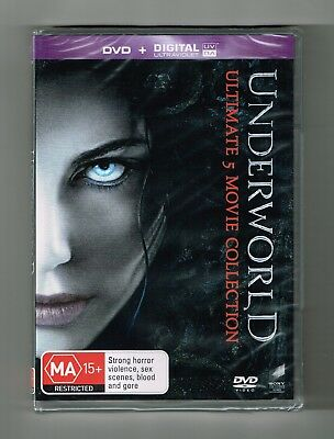 Underworld (Ultimate 5-Movie Collection) Dvd + UV 5-Disc Set Brand New & Sealed