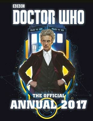Doctor Who: The Official Annual 2017 - Brand new hardback book (2016)