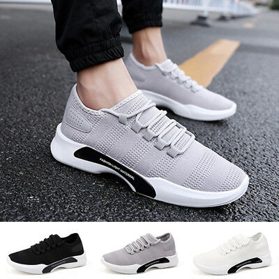 Men Outdoor Casual Athletic Shoes Popular Trainers Breathable Running Sneakers