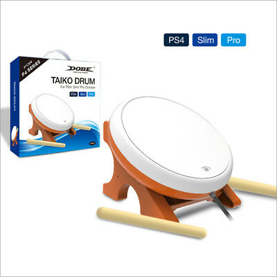 Dobe PS4 Taiko Drum Master Game Controller Drumstick Stand for Sony PS4 Slim Pro