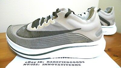 check out fc6a1 aa451 Nike Zoom Fly Shanghai Dark Loden Green Brown White Sz 5 Mens Or 6.5 Womens