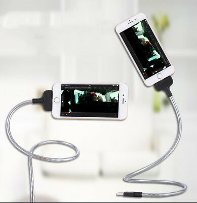 US Charger Cable Wire Cord Charger Holder Dock Stand For iPhone Mobilephone