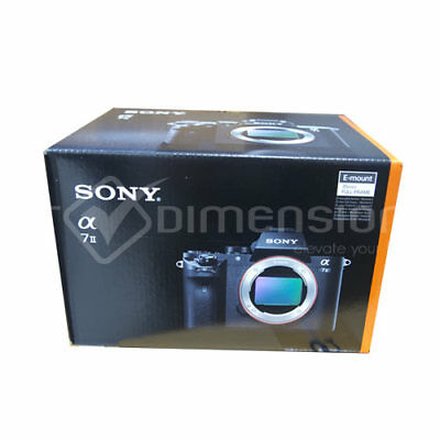 Sony Alpha A7 M2 Mark II Digital Camera Body Only ( PAL) Stock from EU migliore