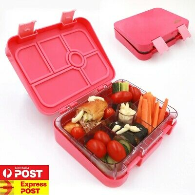New Leakproof Bento Lunch Box with name stickers for Kids, free express post!!!