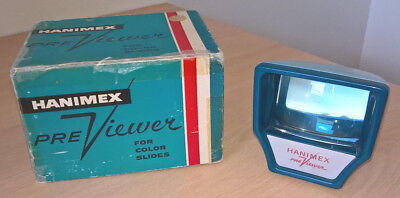 Vintage Hanimex Pre-Viewer for 35mm Slides, Boxed, Viewer