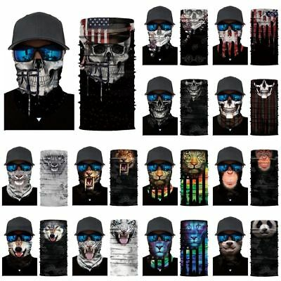 Lots Cycling Motorcycle Neck Tube Ski Scarf Face Mask Balaclava Halloween Party
