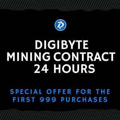 24 hour - DIGIBYTE Contract (TOP CRYPTO OFFER)