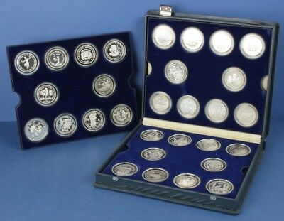 UN: Year of the Child 30 x Proof Silver Proof Coin Set, inc China Thailand India