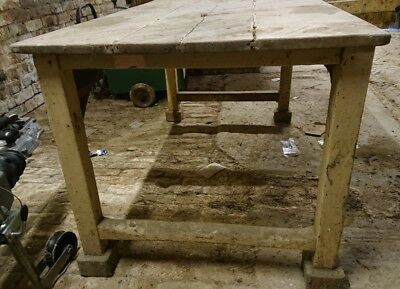 Butchers pine table, 5ft long, Shabby chic - completely untouched barn find