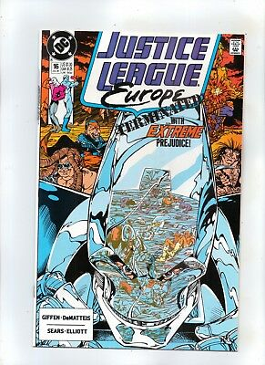 JUSTICE LEAGUE  EUROPE No 16 THE EXTREMIST VECTOR part two CONQUEST!