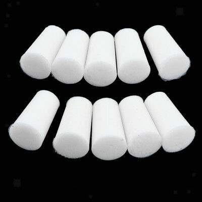 10pcs 1 Hole Rubber Stopper Bungs Laboratory Flask Test Tubes Stopper 8-22mm