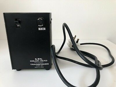 LPL Colour Head Dichroic Transformer - For 6700 / 7700 Series Enlargers tested
