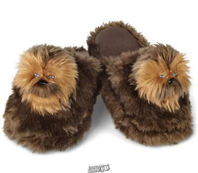 Star Wars Chewbacca open-back scuffs Slippers Shoes Large Men 11-12 Women 11-14