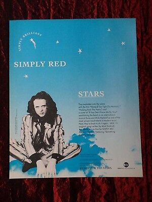 Simply Red  -  Clipping / Cutting- 1 Full Page Magazine Advert