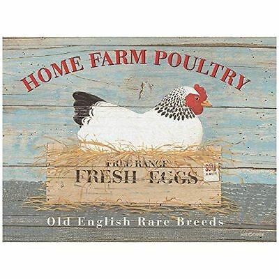 New 15x20cm Home Farm Poultry rare breed retro metal advertising wall sign