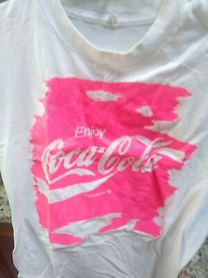 Coke Cola Spring Break 91   'SPECIAL'  tee shirt and drink cup