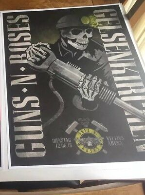 Guns N Roses Rare Lithographs Not In This Lifetime -Germany Litho Only Available