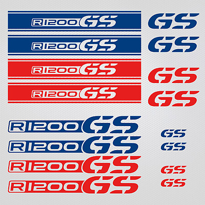 BMW stickers decals motorcycle set R1200 GS helmet gas tank decal motorsport