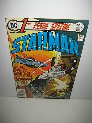 1st Issue Special # 12 Feat. Starman DC Comic Book Bronze Age