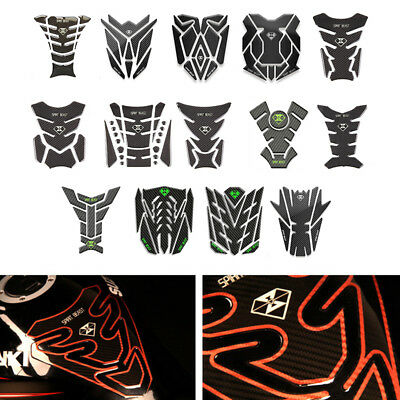 Universal Motorcycle Fuel Tank Pad Protector Sticker For Honda Yamaha Suzuki BMW