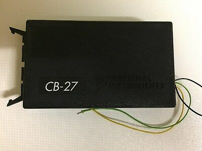 National Instruments NI Connector Block CB27 Nr. 777100-01 - wie NEU