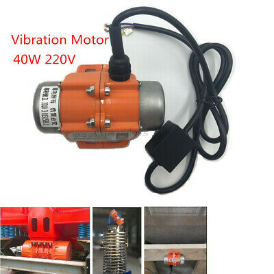 40W Vibration Motor 110V AC Industrial Vibrator Single Phase for Vibrating Sieve