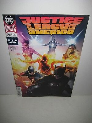 JUSTICE LEAGUE OF AMERICA #29 Francesco Mattina Variant DC Comics NM 2018