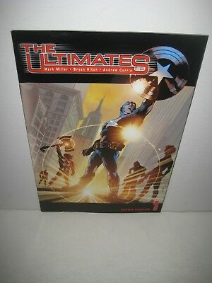 The Ultimates 1 Millar Hitch Marvel comics 2002