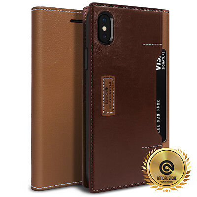 OBLIQ® iPhone XS Max [K3 Wallet]upto 4 Card Hand Made Premium Case Leather Cover