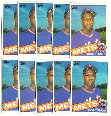 Image result for dwight gooden rookie card lot
