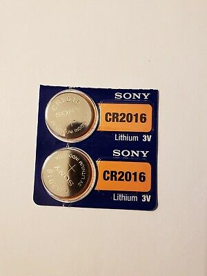 A -2- New- Sony-Lithium Battery-3V-cr2016 /cr 2016-Fast Shipping -EX-2027- XXZA