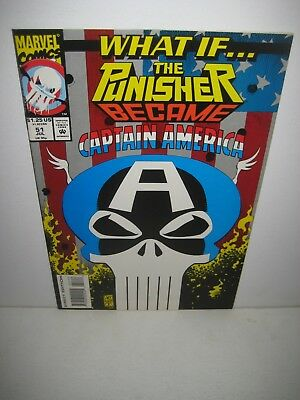 What If... # 51 The Punisher Became Captain America 1993