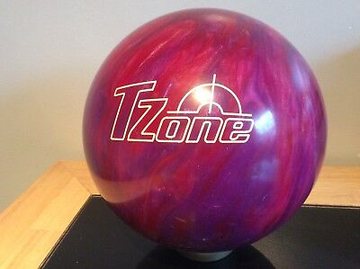 Tzone Ten Pin Bowling Ball, Preowned