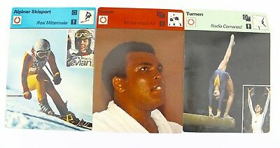 "Editions Rencontre S.A. Lausanne 1977 "" Boxen Turnen Skisport "" Ali Mittermaier"