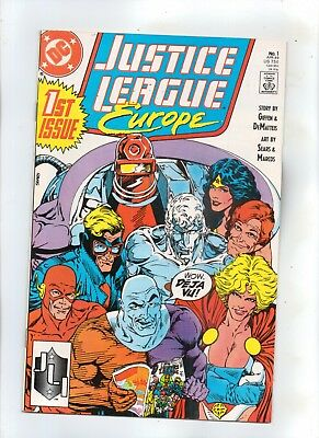 JUSTICE LEAGUE EUROPE No 1 How Ya Gonna Keep Em Down On The Farm After Paree?