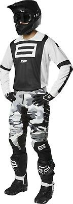 Shift Mens Black/White Black Label G.I. FRO 20th Dirt Bike Jersey & Pants Combo