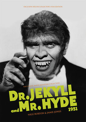 Dr Jekyll and Mr Hyde 1931 Paramount Fredric March horror movie magazine