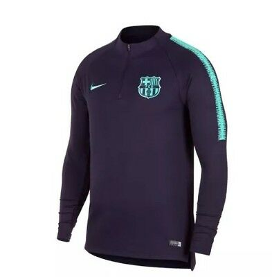 NEW Nike FC Barcelona Barca 2018/19 Fußball Football Drill Top shirt M Neu