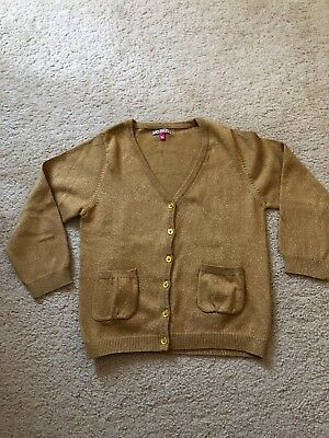Pre-owned Pink Chicken Girls Cardigan Size 6