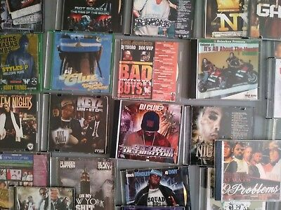 RAP CD LOT Of 13 CD's Great Mix-2Pac Busta Rhymes 50 Cent
