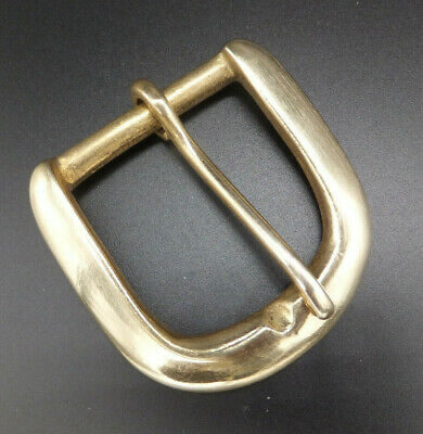 """BS12A    1-1/2""""    38 mm  SOLID BRASS SINGLE BELT BUCKLE Leather craft 1-2-5 -10"""