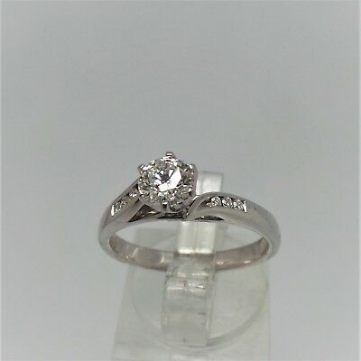18ct WHITE GOLD DIAMOND RING VALUED @$4324 COMES WITH VALUATION