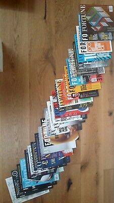 Fortune Magazines Old Editions Lot
