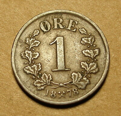 Norway 1878 One Ore
