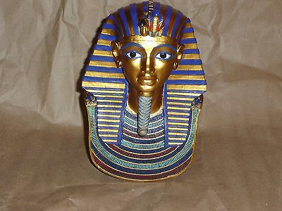 Egypt Mask Of King Tut Figurine Bust.ancient Egyptian Statue