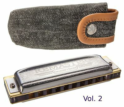 Hohner Collector's Edition Remaster Vol. 2 German Diatonic Harmonica in Key of C