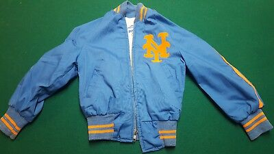 Vintage 1960s Pyramid New York Mets Boys Childs Jacket Size 7